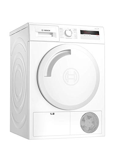 Bosch Serie 4 WTH83002 tumble dryer Freestanding Front-load White 7 kg A+ - Bosch Serie 4 WTH83002, Freestanding, Front-load, Heat pump, White, Rotary, Right
